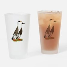 Runner Ducks Emery Penciled Drinking Glass