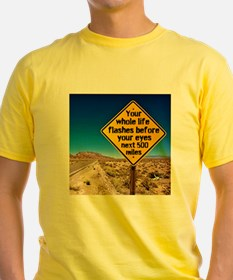 Your whole life flashes T-Shirt