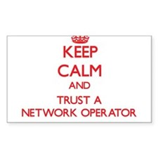 Keep Calm and Trust a Network Operator Decal