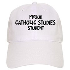 catholic studies student Baseball Cap