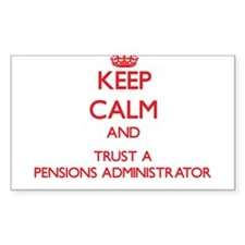 Keep Calm and Trust a Pensions Administrator Stick