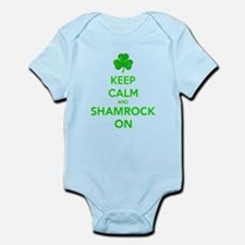 Keep Calm And Shamrock On Body Suit