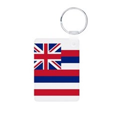 Flag of Hawaii Keychains