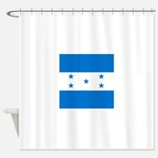 Flag of Honduras Shower Curtain