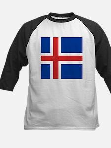 Flag of Iceland Baseball Jersey