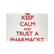 Keep Calm and Trust a Pharmacist Magnets