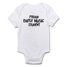 early music student Infant Bodysuit