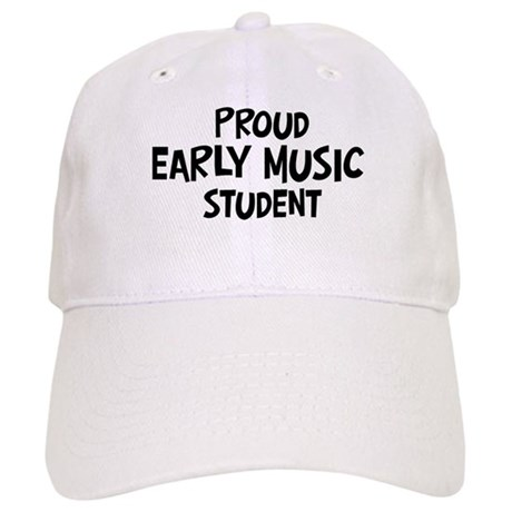early music student Cap