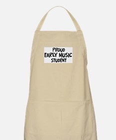 early music student BBQ Apron