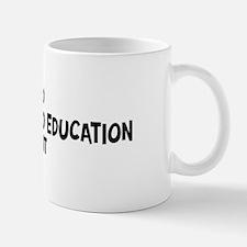 early childhood education stu Small Small Mug