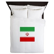 Flag of Iran Queen Duvet