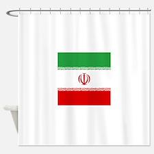 Flag of Iran Shower Curtain