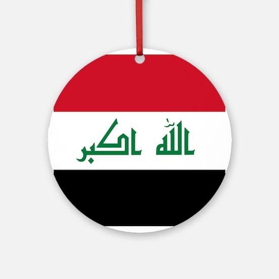 Flag of Iraq Ornament (Round)