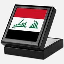 Flag of Iraq Keepsake Box