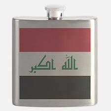 Flag of Iraq Flask