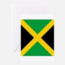Flag of Jamaica Greeting Cards