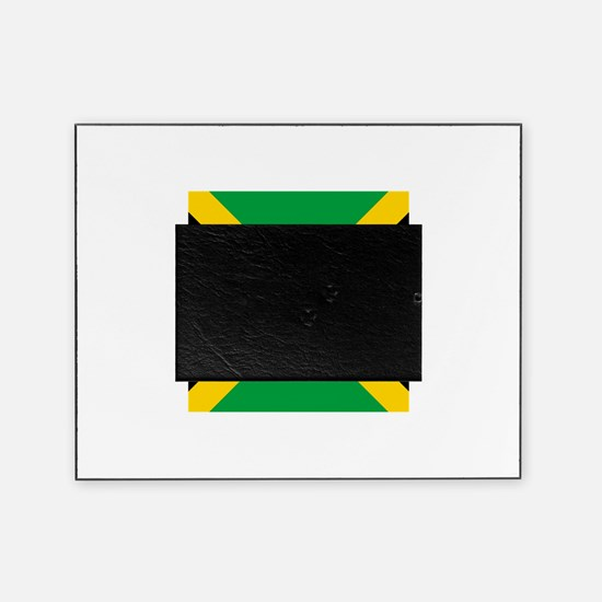Flag of Jamaica Picture Frame