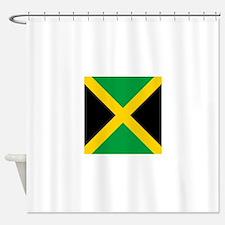 Flag of Jamaica Shower Curtain