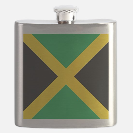 Flag of Jamaica Flask