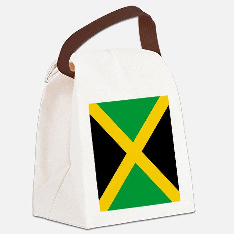 Flag of Jamaica Canvas Lunch Bag