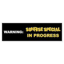 Sunrise Special Bumper Bumper Sticker