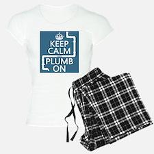 Keep Calm and Plumb On (plumbing) pajamas