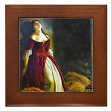Flavitsky - Princess Tarakanova Framed Tile