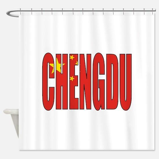 Chengdu Shower Curtain