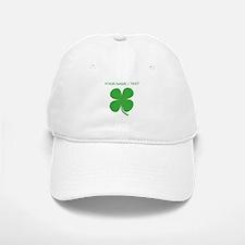 Custom Green Four Leaf Clover Baseball Baseball Baseball Cap