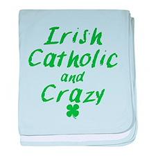 Irish Catholic And Crazy baby blanket
