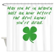 Before The Devil Knows Youre Dead Shower Curtain