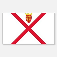 Flag of Jersey Decal