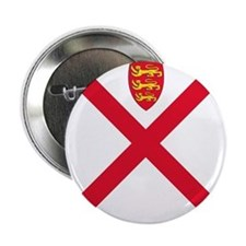 """Flag of Jersey 2.25"""" Button (10 pack)"""