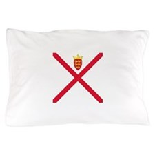 Flag of Jersey Pillow Case