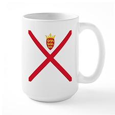 Flag of Jersey Mugs