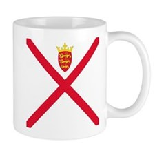 Flag of Jersey Mugs