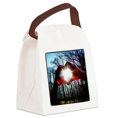LoveKarmaLove Canvas Lunch Bag