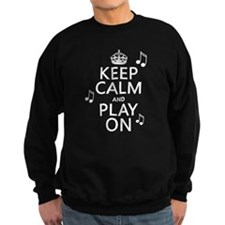 Keep Calm and Play On (music) Jumper Sweater