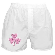 Valentine Heart Sharmrocks Boxer Shorts