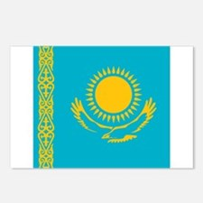 Flag of Kazakhstan Postcards (Package of 8)