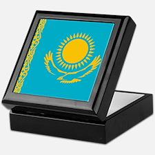 Flag of Kazakhstan Keepsake Box