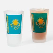 Flag of Kazakhstan Drinking Glass