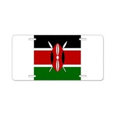 Flag of Kenya Aluminum License Plate