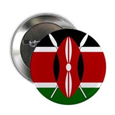 "Flag of Kenya 2.25"" Button (10 pack)"