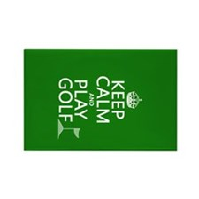 Keep Calm and Play Golf Magnets