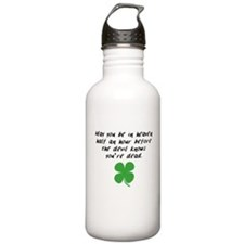 Before The Devil Knows Youre Dead Water Bottle
