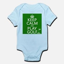 Keep Calm and Play Golf Body Suit