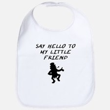 Say Hello To My Little Friend Leprechaun Bib