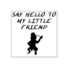 Say Hello To My Little Friend Leprechaun Sticker