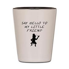 Say Hello To My Little Friend Leprechaun Shot Glas
